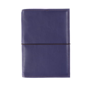 A5 Discovery Indigo Elastic leather cover