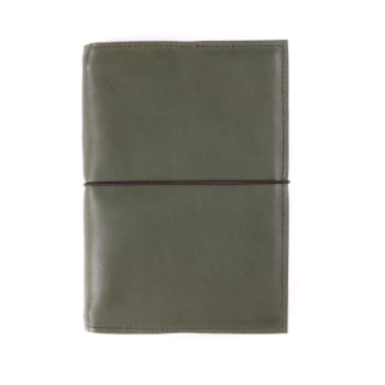 A5 Discovery Moss Elastic leather cover