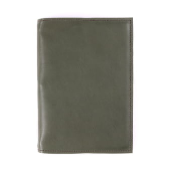 A5 Discovery Moss leather cover