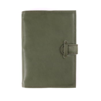 A5 Discovery Moss Tab leather cover