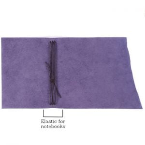 A6 Wrap – Tie Closure in Indigo Leather Cover