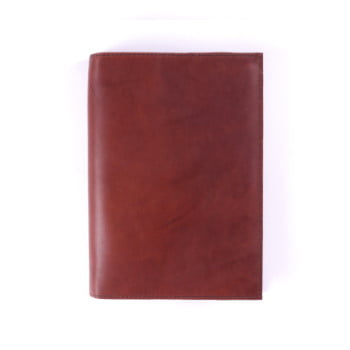B6 Discovery Cognac leather cover