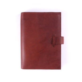 B6 Discovery Cognac Tab leather cover