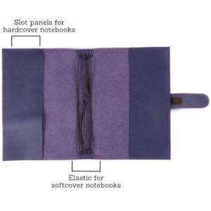 B6 Classic – Tab Closure in Indigo Leather Cover