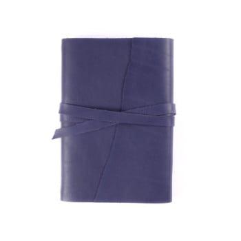 B6 Discovery Wrap Indigo Tie leather cover