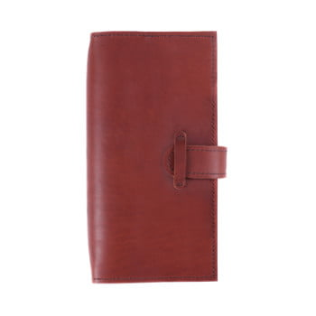 Slim Discovery Cognac Tab leather cover