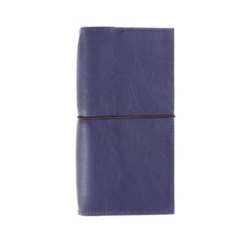Slim Discovery Indigo Elastic leather cover