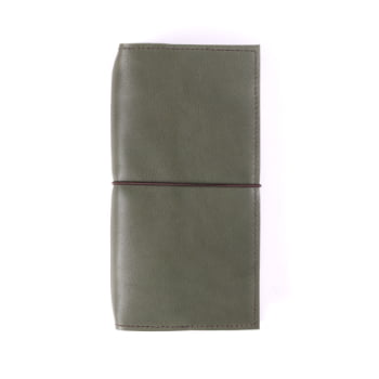 Slim Discovery Moss Elastic leather cover