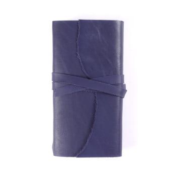 Slim Discovery Wrap Indigo Tie leather cover