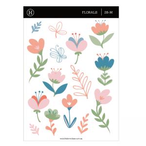 Soft Florals – Sticker Sheet