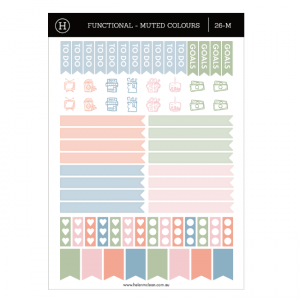Flags & Icons – Sticker Sheet Set 1