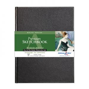 Stillmand and Birn Delta hardcover watercolour art sketchbook sq