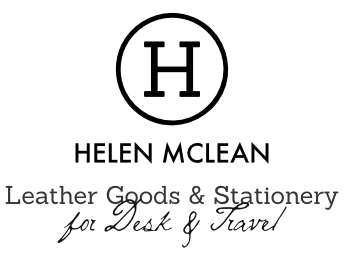Helen McLean Leather Goods & Stationery for Desk & Travel