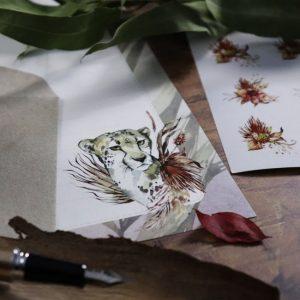 Jungle – Letter Writing Box Set