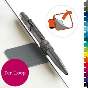 Leuchtturm1917 Pen Loop – Berry