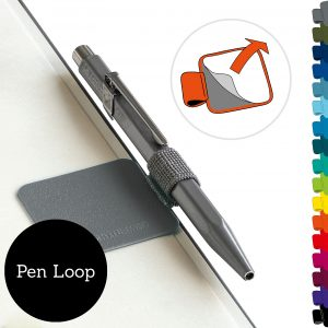 Leuchtturm1917 Pen Loop – Black