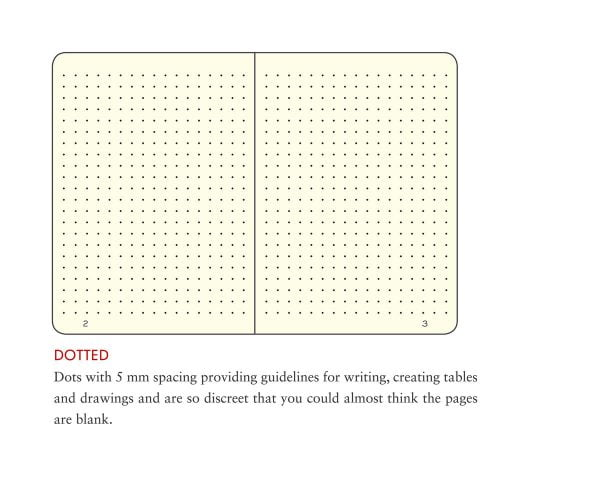 Dot grid pages Leuchtturm