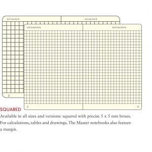Leuchtturm1917 Hardcover 249 pg – Square Grid A5 Notebook – Black