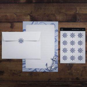 Nautical – Letter Writing Box Set