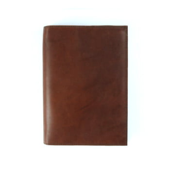 brown leather cover to suit B6 front