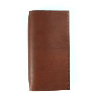 brown leather cover to suit traveler notebooks front