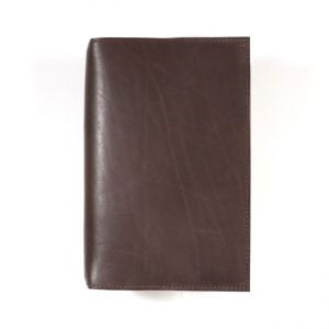 Moleskine Leather Cover – in Espresso