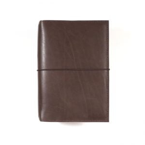 B6 Classic – Elastic Closure in Espresso Leather Cover