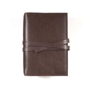 B6 Classic – Tie Closure in Espresso Leather Cover