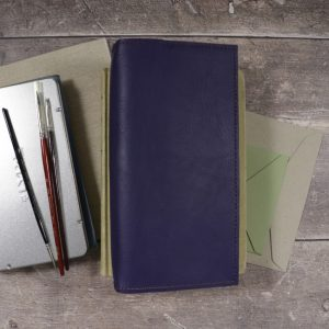 Slim Classic – Indigo Leather Cover