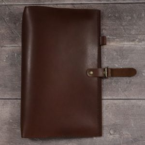 B5 Map Cover – Cognac Leather