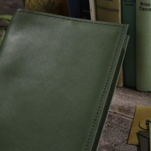 A5 Classic – Moss Leather Cover