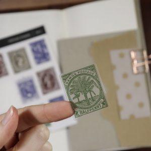Vintage Stamps – Clear Sticker Sheet