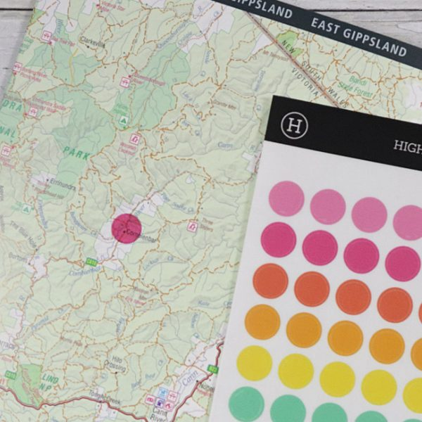 Stickers Highlight Dots Sheet 10mm example