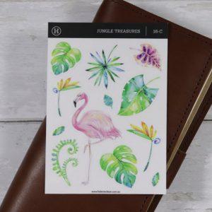 Jungle Treasures – Clear Sticker Sheet