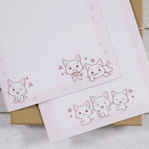 Kawaii Kittens – Letter Writing Box Set