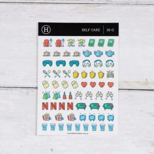 Self Care – Gloss Sticker Sheet
