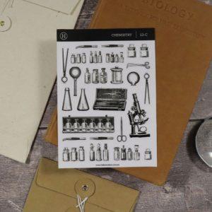 Chemistry – Clear Sticker Sheet
