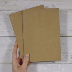 A5 Dot Grid Softcover Notebook 2 pack