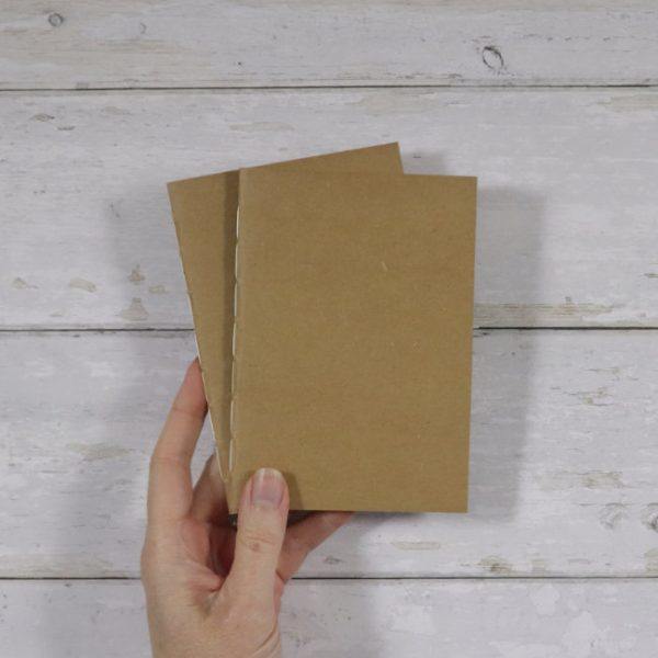 A6 Dot Grid Softcover Notebook 2 pack