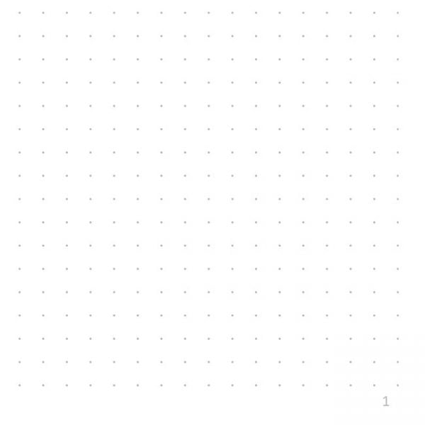 Dot grid note paper numbered graphic