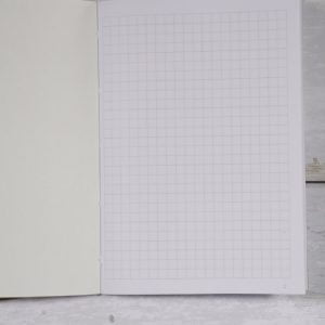 Slim Grid Softcover Notebook 64 pg – 2 pack (Helen McLean brand)