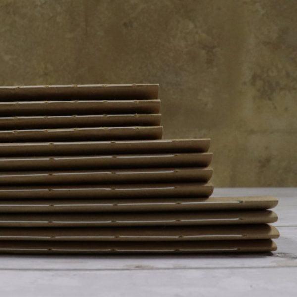 hand sewn bound notebooks