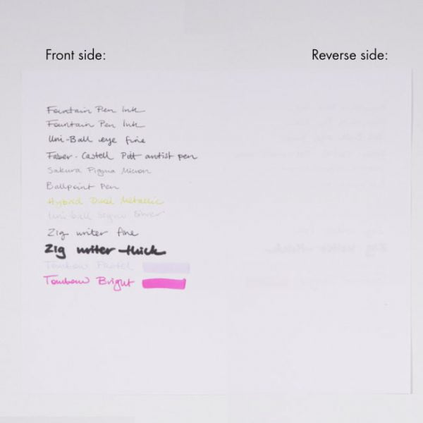 helen mclean notebook paper test 90gsm
