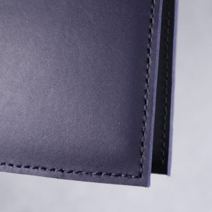 A5 Classic – Navy Blue Leather Cover