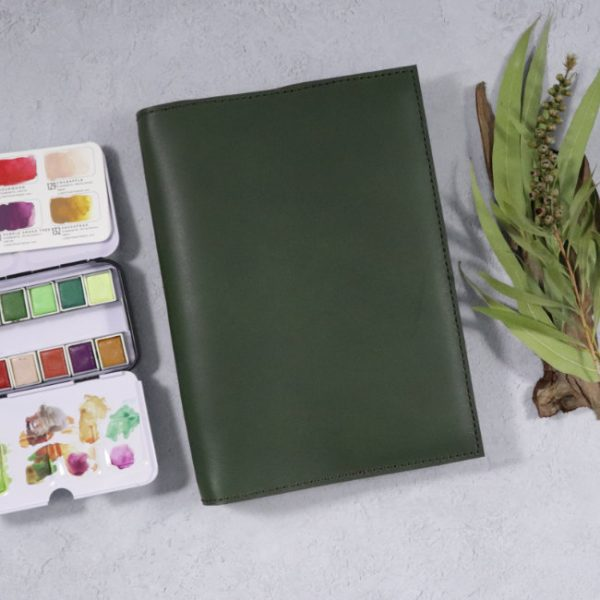 leather notebook cover none forest insitu