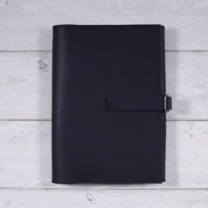 A5 Tri-fold Leather Cover