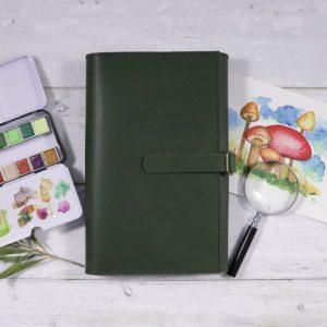 Ultimate Leather Travel Art Set – Moleskine