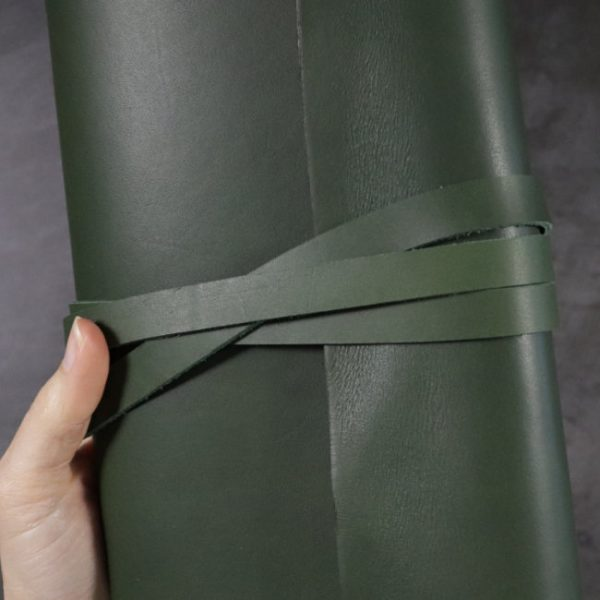 leather wrap notebook cover wrap forest closeup