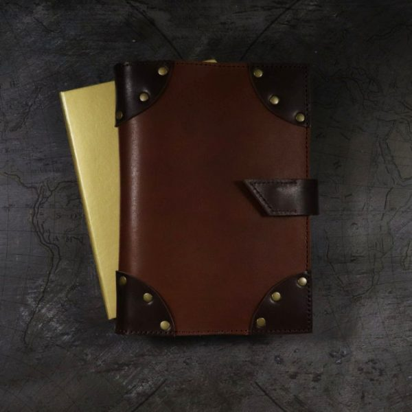 lost treasures leather cover by helen mclean