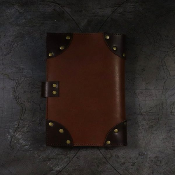 lost treasures leather cover by helen mclean back